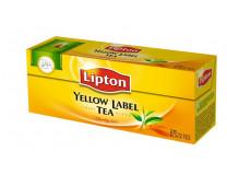 """Čierny čaj, 25x2 g, LIPTON """"Yellow label"""""""