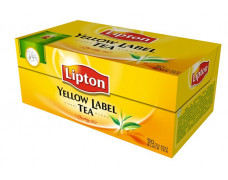 "Čaj Lipton""yellow label"", 50 x2g"