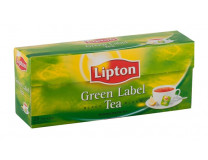 "Čaj Lipton ""green label "", 25 x2 g"
