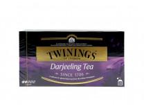 "Čierny čaj, 25x2 g, TWININGS ""Darjeeling"""