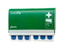 """Dávkovač náplastí """"Quick Fix Detectable"""", 90-kusový, detekovateľné náplasti, PLUM"""