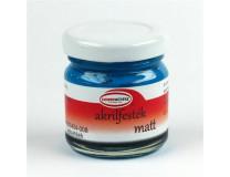 Akyrlová farba, 40 ml, matná, koboltovo modrá