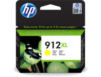 3YL83AE náplň do Officejet 8023 All-in-One tlačiarní, HP 912XL, žltá, 825 strán