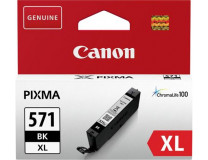 CLI-571XL náplň do talčiarní Pixma MG 5700 Series/6800 Series/7700 Series, CANON, čierna, 11 ml