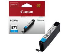 CLI-571C  náplň pre tlačiarne Pixma MG5750, 6850,7750, CANON modrá, 7 ml
