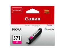 CLI-571M náplň pre tlačiarne Pixma MG5750, 6850,7750, CANON červená, 7 ml
