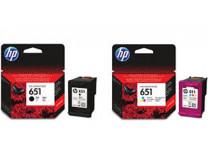 C2P11AE náplň k tlačiarňam Deskjet Ink Advantage 5575, HP 651 farebná, 300 strán