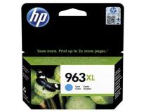 3JA27AE Náplň k tlačiarňam OfficeJet Pro 9010, 9020, HP 963XL, cyán, 1600 strán