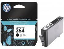CB316EE náplň do tlačiarní Photosmart C5380, C6380, D5460, HP 364, čierna, 250 str