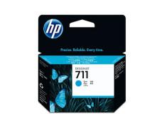 CZ130A náplň do tlačiarne DesignJet T120,T520, HP 711, modrá, 29 ml