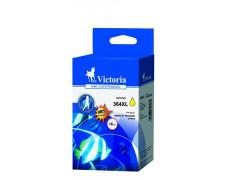 364XL Náplň k tlačiarňam Photosmart C5380, C6380, VICTORIA žltá, 12ml