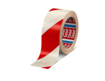 """Označovacia páska, 50 mm x 33 m, TESA """"Professional"""", červená/biela"""