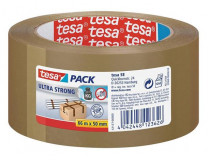 "Baliaca páska, 50 mm x 66 m, TESA ""Ultra Strong"", hnedá"