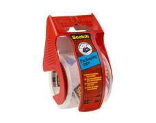Baliaca páska, s dispenzorom, 48 mm x 20,3 m, 3M SCOTCH, priehľadná