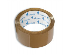 Baliaca páska, 50 mm x 60 m, VICTORIA, hnedá