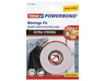"""Lepiaca páska, obojstranná, extra silná,  19 mm x 1,5 m, TESA """"Powerbond"""""""