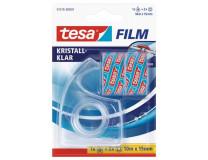 Dispenzor na lepiacu pásku, ručný, TESA + 2 ks 15mm x 10 m lepiacej pásky