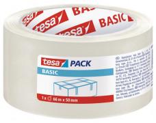 "Baliaca páska, 50 mm x 66 m, TESA ""Basic"", priehľadná"