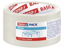 "Baliaca páska, 48 mm x 50 m, TESA ""Basic"", priesvitná"