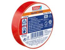 """Izolačná páska, 19 mm x 20 m, TESA """"Professional"""", červená"""
