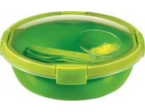 """Box na obed, s príborom, 1l, CURVER, """"Smart to go"""", zelená"""