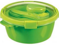 """Box na obed, s príborom, 1,6l, CURVER, """"Smart to go"""", zelená"""
