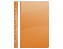 Rýchloviazač, s eurodierovaním, PVC, A4, DONAU, oranžový