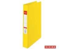 """Krúžkový šanón """"Standard"""",  2 krúžky, 35mm, žltý"""