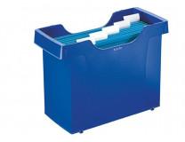 """Box na závesné zakladacie dosky, 5  ks závesných zakladacích dosiek, LEITZ """"Plus"""", modrý"""