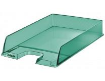 """Odkladač, plastový,  ESSELTE """"Colour` Ice"""", zelený"""