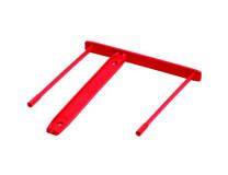 Archivačná spona, plastová, 85 mm, FELLOWES, Bankers Box®, červená