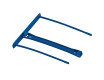 Archivačná spona, plastová, 100 mm, FELLOWES, Bankers Box® Pro, modrá