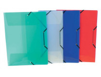 """Doska s gumičkou, 15 mm, PP, A3, VIQUEL """"Propyglass"""", mix farieb"""