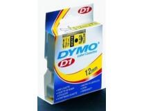 """Páska do štítkovača, 12 mm x 7 m, DYMO """"D1"""", biela-modrá"""