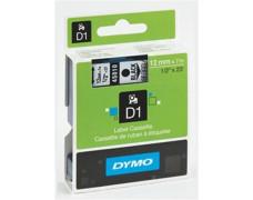 """Páska do štítkovača, 19 mm x 7 m, DYMO """"D1"""", biela-čierna"""