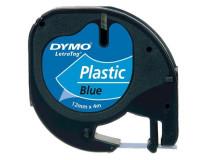 """Páska do štítkovača, 12 mm x 4 m, DYMO """"Letratag"""",  modrá"""