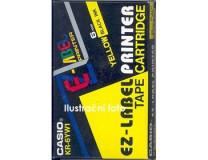 6mm x 8m páska žltá-čierna