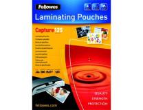 Laminovacia fólia za tepla, 125 mikrón, A4, matná, FELLOWES