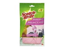 "Kuchynské gumené rukavice, veľ. M, ""Scotch-Brite"""