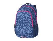 """Batoh, s priehradkou na notebook, PULSE """"Cots Dream Wave"""", modrý-ružový"""