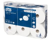 """Toaletný papier, T8 systém , 2-vrstvový, priemer: 19,9 cm, TORK """"SmartOne®"""", biela"""