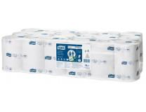 """Toaletný papier, T7 systém, 1-vrstvový, priemer: 13,1 cm, Universal, TORK """" Mid-size"""", biela"""