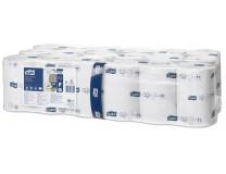 """Toaletný papier, T7 systém, 2-vrstvový, priemer: 13,1 cm, Premium, TORK """"Mid-size"""", biela"""