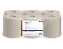 """Toaletný papier, 1-vrstvový, 125 m, 19 cm priemer, LUCART """"Jumbo 19"""", prírodný"""