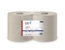 "Toaletný papier, 1-vrstvový, priemer: 23 cm, LUCART ""Jumbo 23"", slonovina"