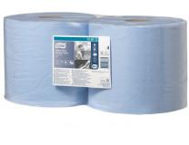 """Papierová utierka, kotúčová, priemer: 26,2 cm, W2 systém, TORK """"Heavy-Duty"""", modrá"""