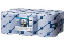 """Čistiace utierky, kotúčové, priemer: 18,5 cm, M4 systém, Advanced, TORK """" Reflex™"""", modrá"""