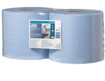 """Čistiace utierky, kotúčové, priemer: 26,2 cm, W2 systém, TORK """"Plus"""", modrá"""