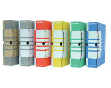 Archívny box, A4, 80 mm, kartónový, DONAU, prírodný