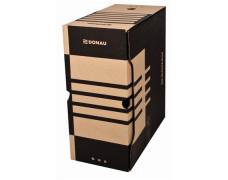 Archívny box, A4, 155 mm, kartón, DONAU, prírodný